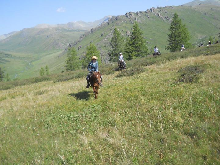 mountain riding
