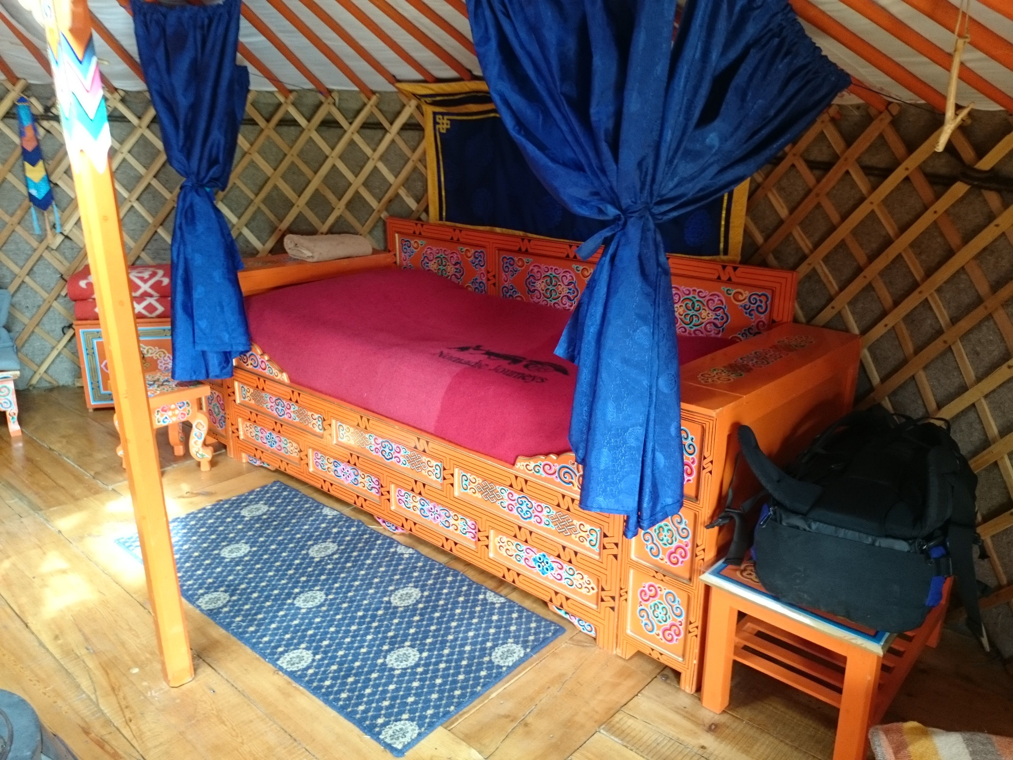 Glamping Ger style in Mongolia || Traveling Honeybird