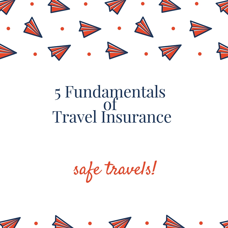 5 Fundamentals of Travel Insurance.