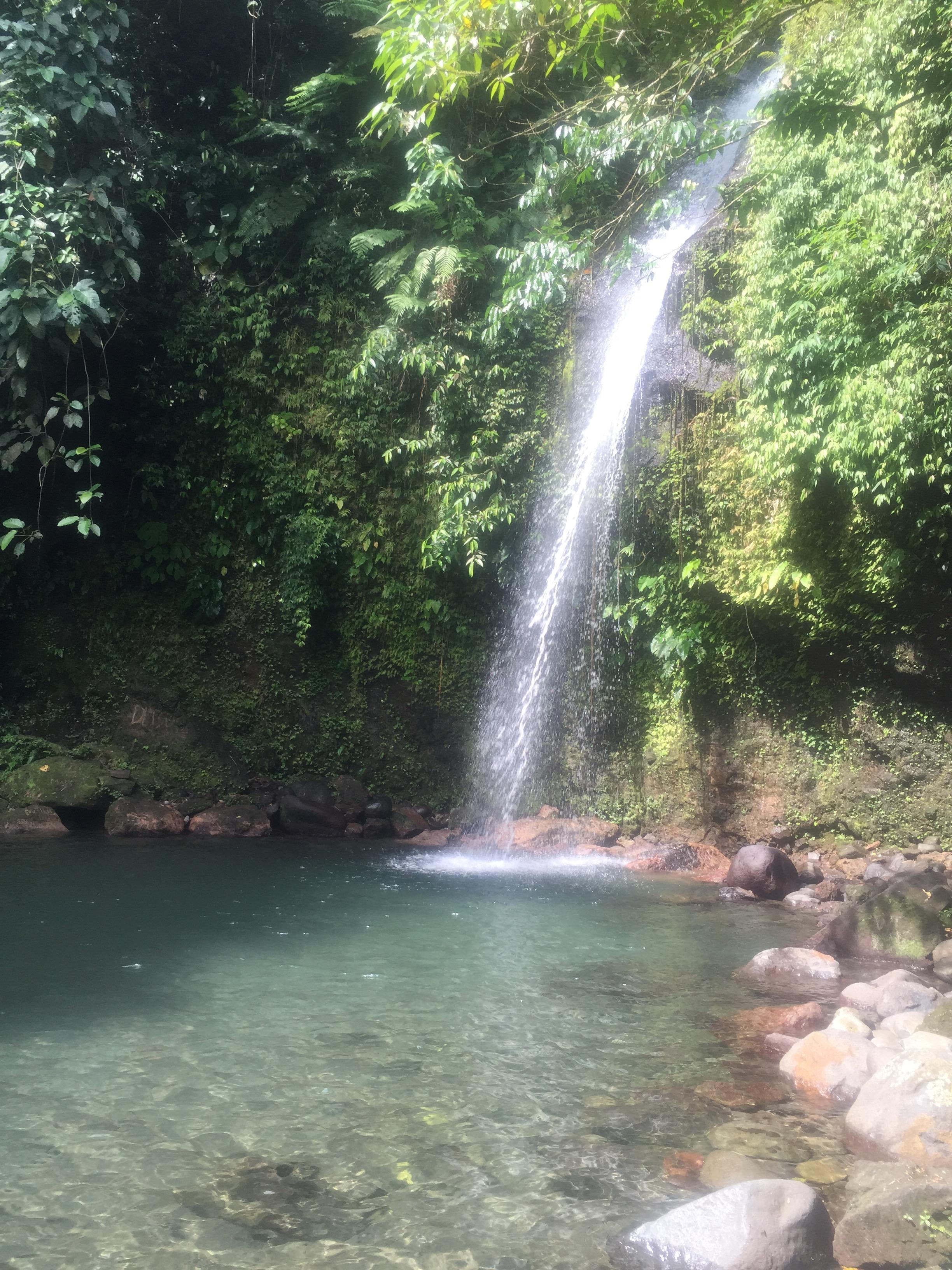 Busay Falls, Albay, Philippines @honeybirdtravel