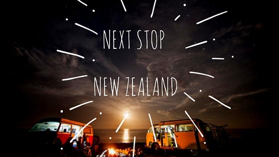 Next stop – New Zealand!