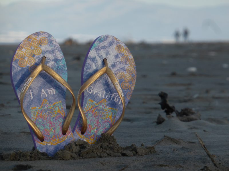 Moeloco flipflops are great for an Australian road trip