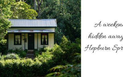 A weekend hidden away in Hepburn Springs