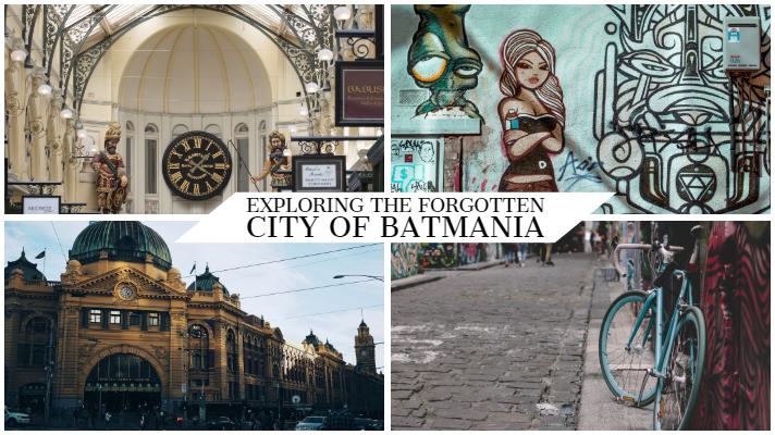 Exploring the forgotten city of Batmania