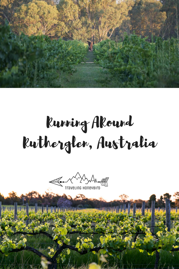 Running Around Rutherglen, Australia. One of Australia's oldest wine regions. Full of amazing places to experience wine, chocolate and coffee