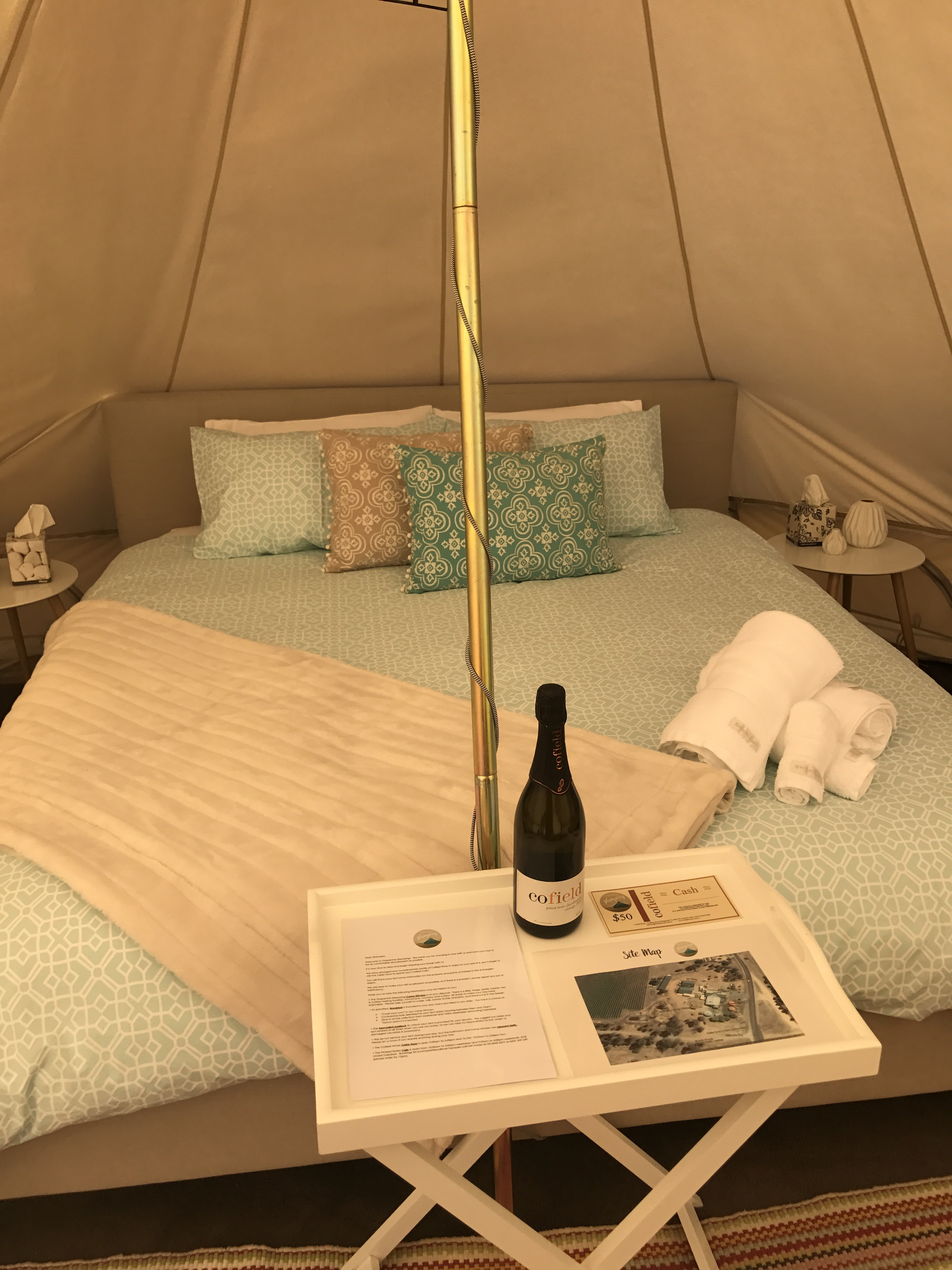 Welcome to glamping