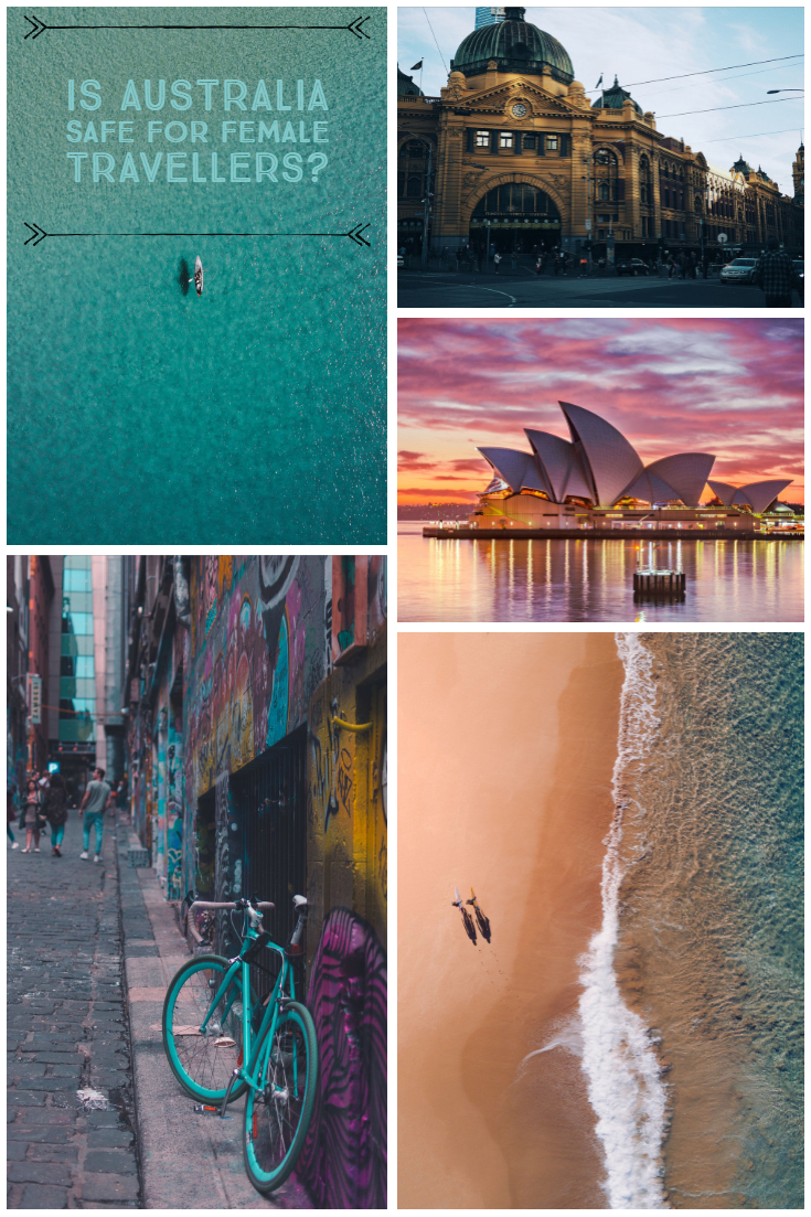 Australia is a vast & beautiful country but how safe is it for the female traveller? Should we be locking up our daughters to stop them from visiting the land down under? #Australia #femaletraveller #lessonsfromJean