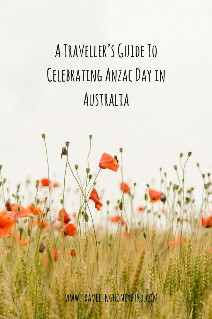 A Traveller's Guide To Celebrating Anzac Day in Australia || Traveling Honeybird