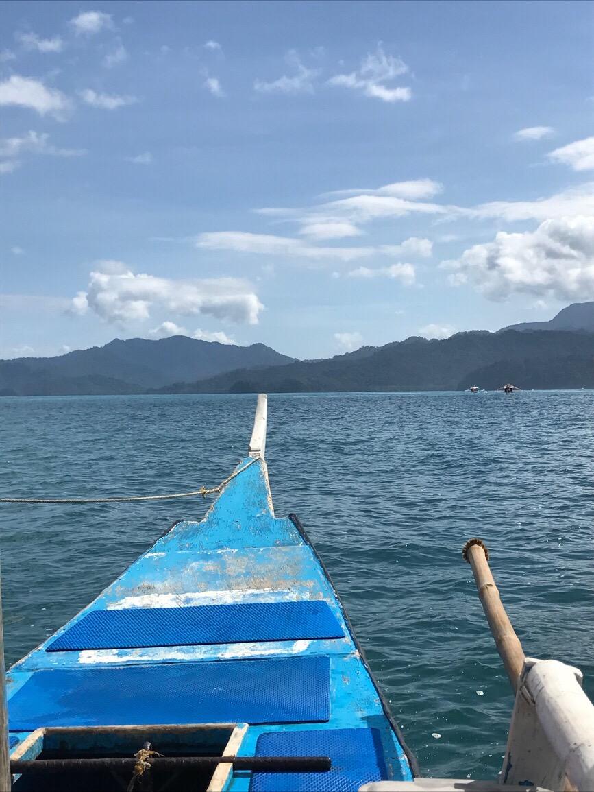 Boat Ride Palawan Traveling Honeybird