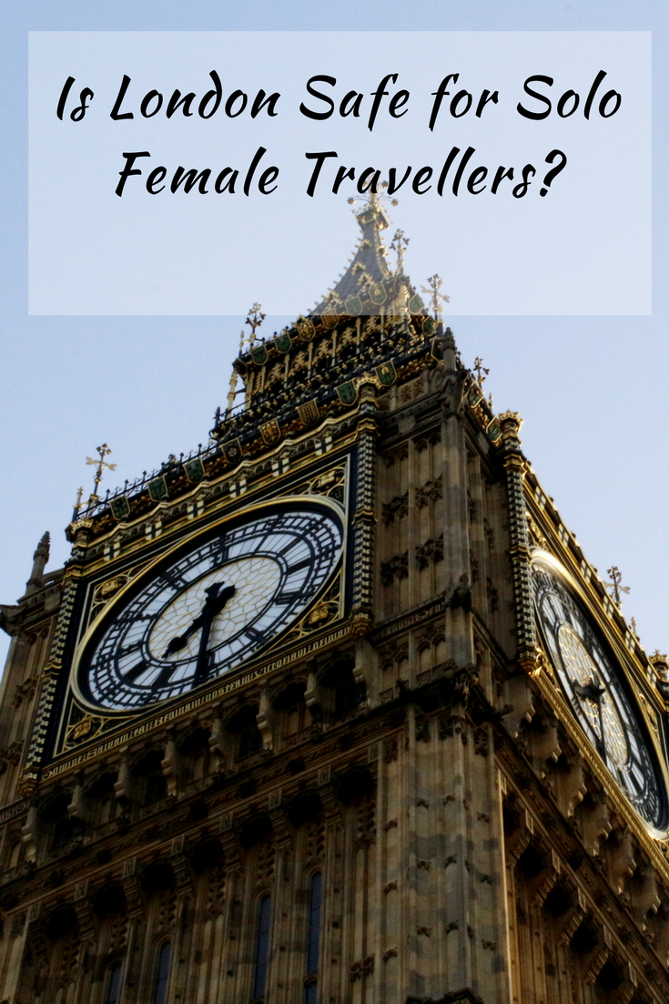 Is London Safe for Solo Female Travellers-