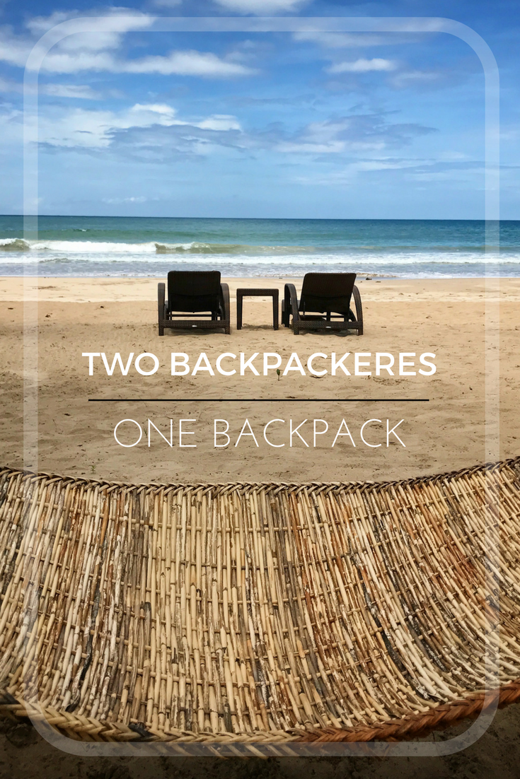 Two Backpackers One Backpack