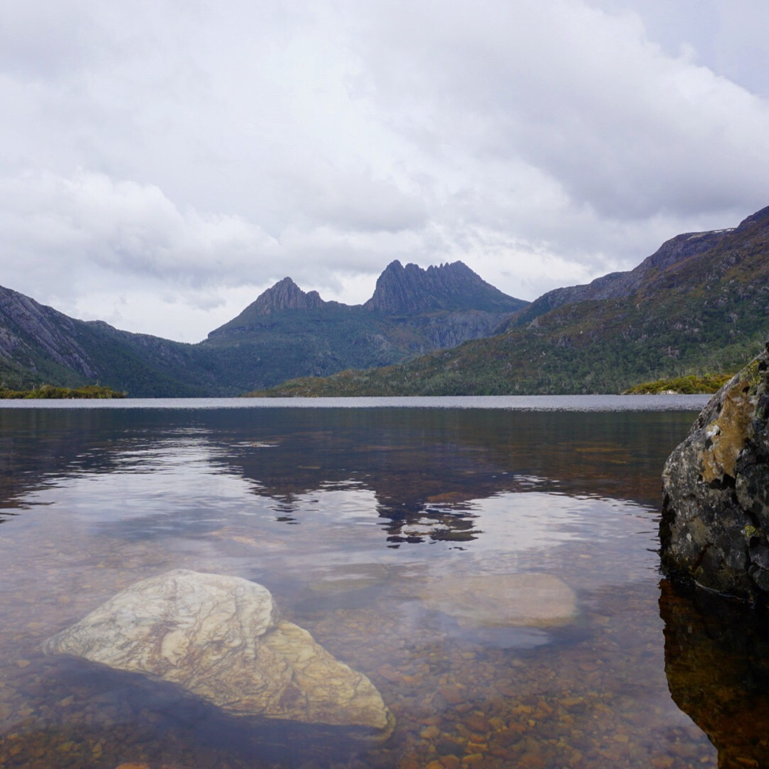 Dove Lake Cradle Mountain. Tasmania