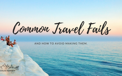 Common Travel Fails