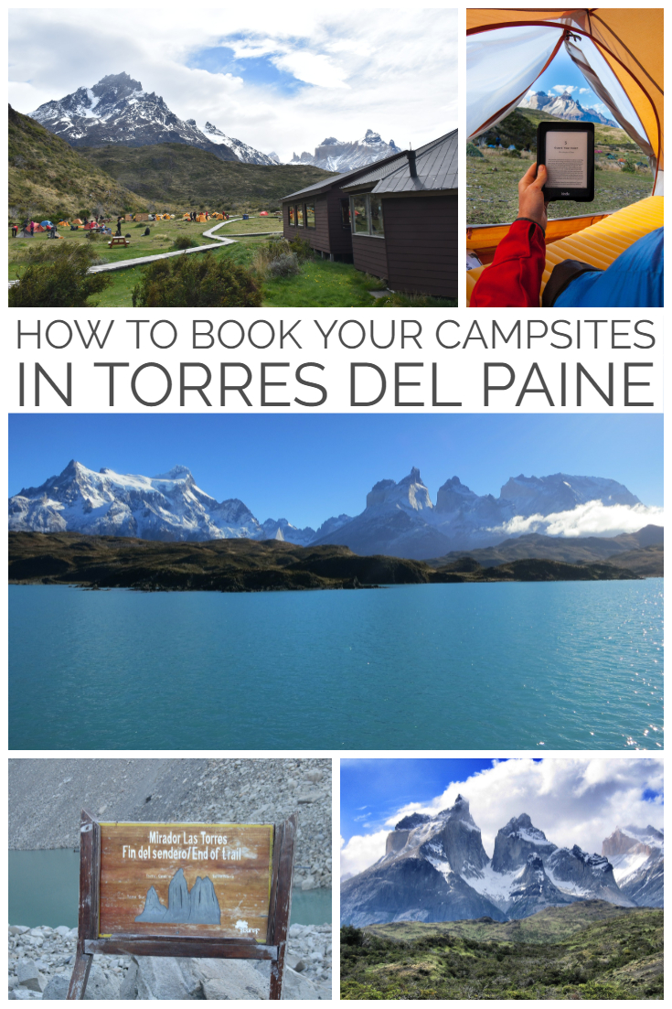 Are you ready for an adventure? Let us walk you through how to book a campsite in Torres Del Paine, Chile. It's not as easy as what you think. No longer can you go hiking in the national park without all your accommodation booked and paid for. #chile #adventuretravel #torresdelpaine #hike #camping