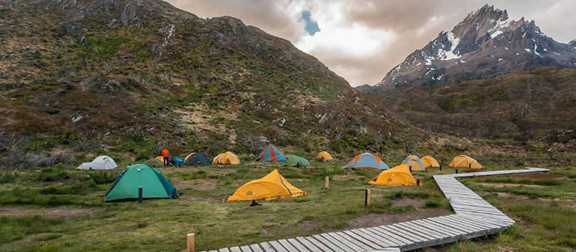 Circuito W Torres Del Paine Camping : Preparing for patagonia how to book a campsite in torres