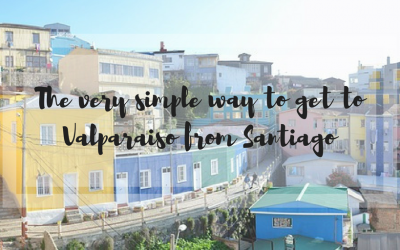 The very simple way to get to Valparaiso from Santiago