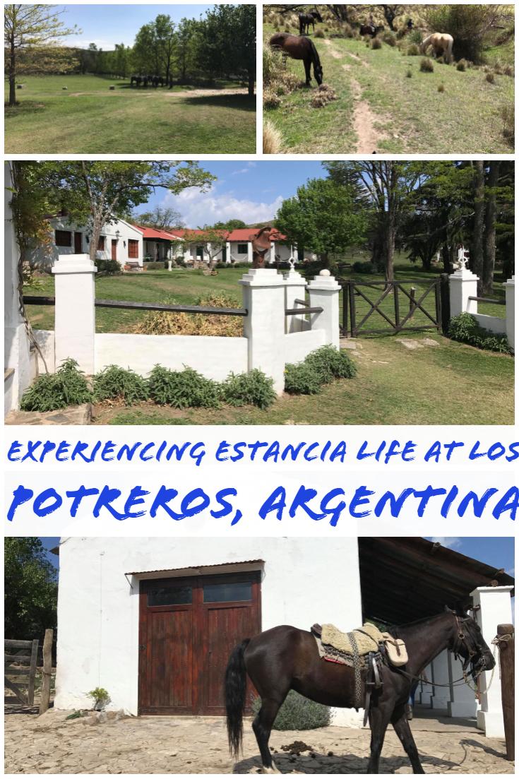 Experiencing estancia life at Los Potreros, Argentina