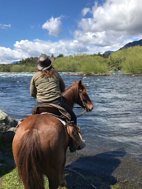 River riding Pucon