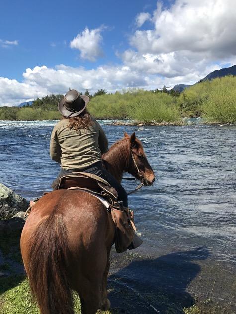 River riding Pucon