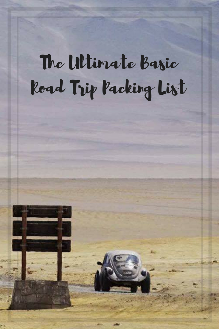 The Ultimate Basic Road Trip Packing List for your next adventure #travel #adventure #roadtrip #travelblog #explore