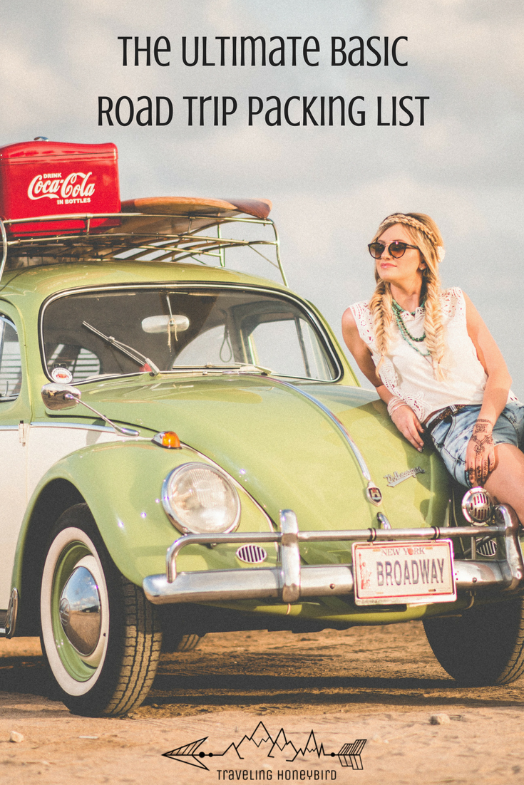 The Ultimate Basic Road Trip Packing List for your next adventure no matter what your style #travel #adventure #roadtrip #travelblog #explore