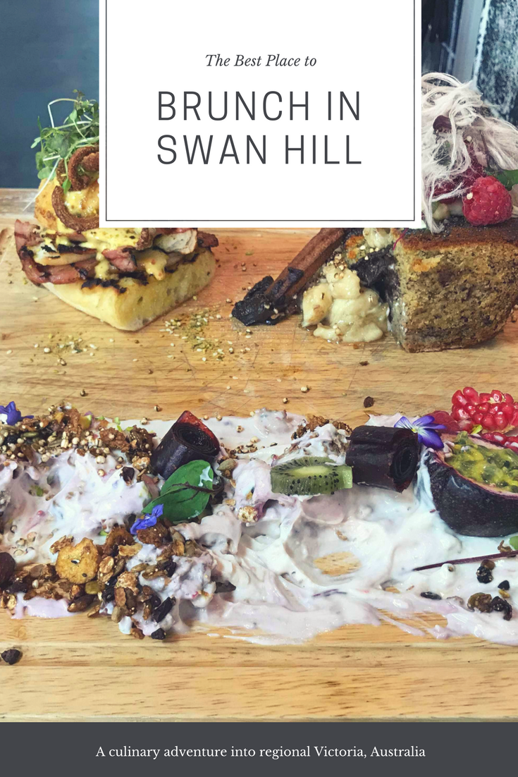 The best place to brunch in Swan Hill is right here. You'll never guess where it is. #Australia #RegionalExplorer #foodie foodblogger