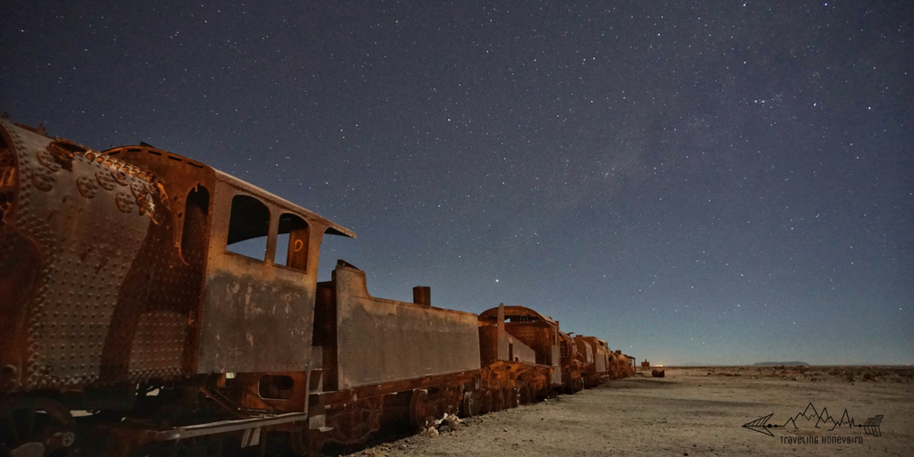Train graveyard in Bolivia. Trains really are a big thing here.