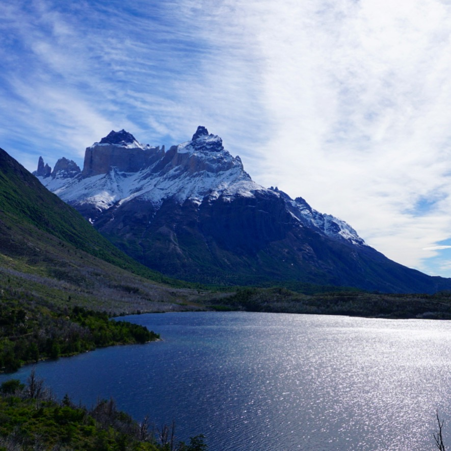 The simply beauty of Torres Del Paine