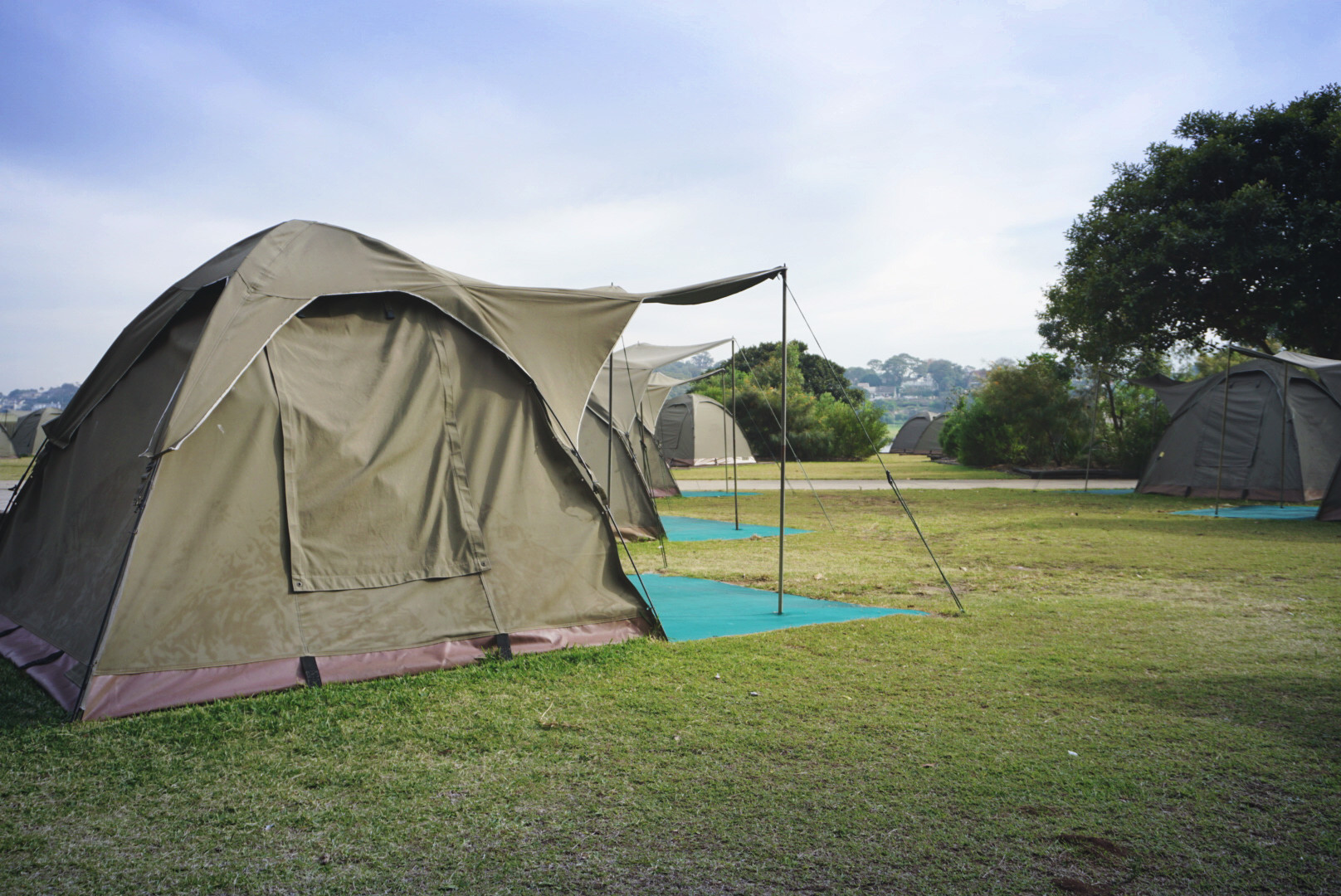 Glamping on Cocktaoo Island