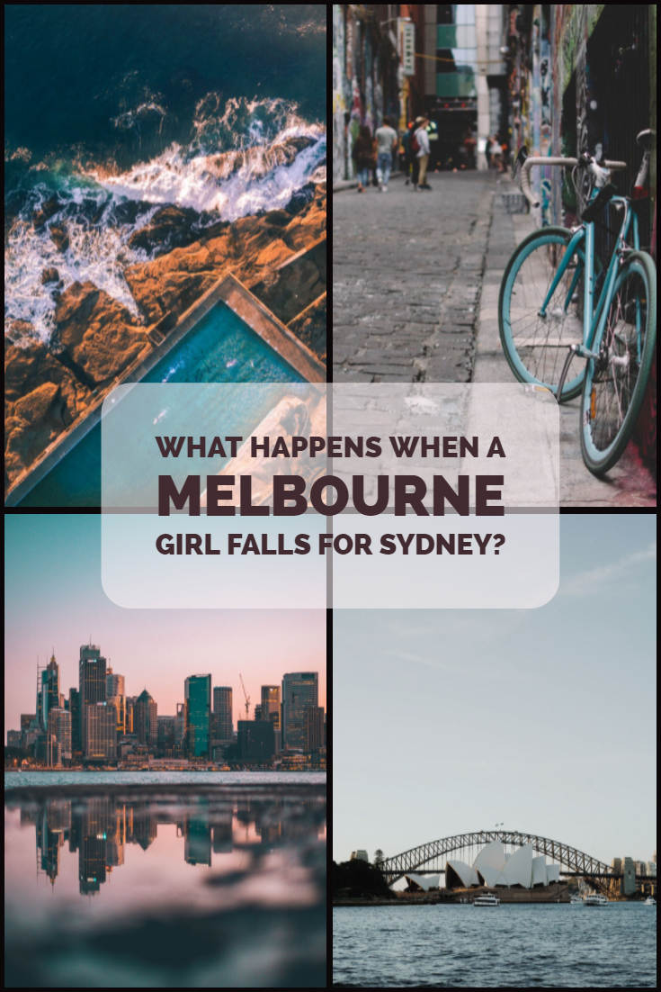 What Happens When a Melbourne Girl Falls for Sydney? Does the world end? For far too long there's been a debate about which Australian city is better.