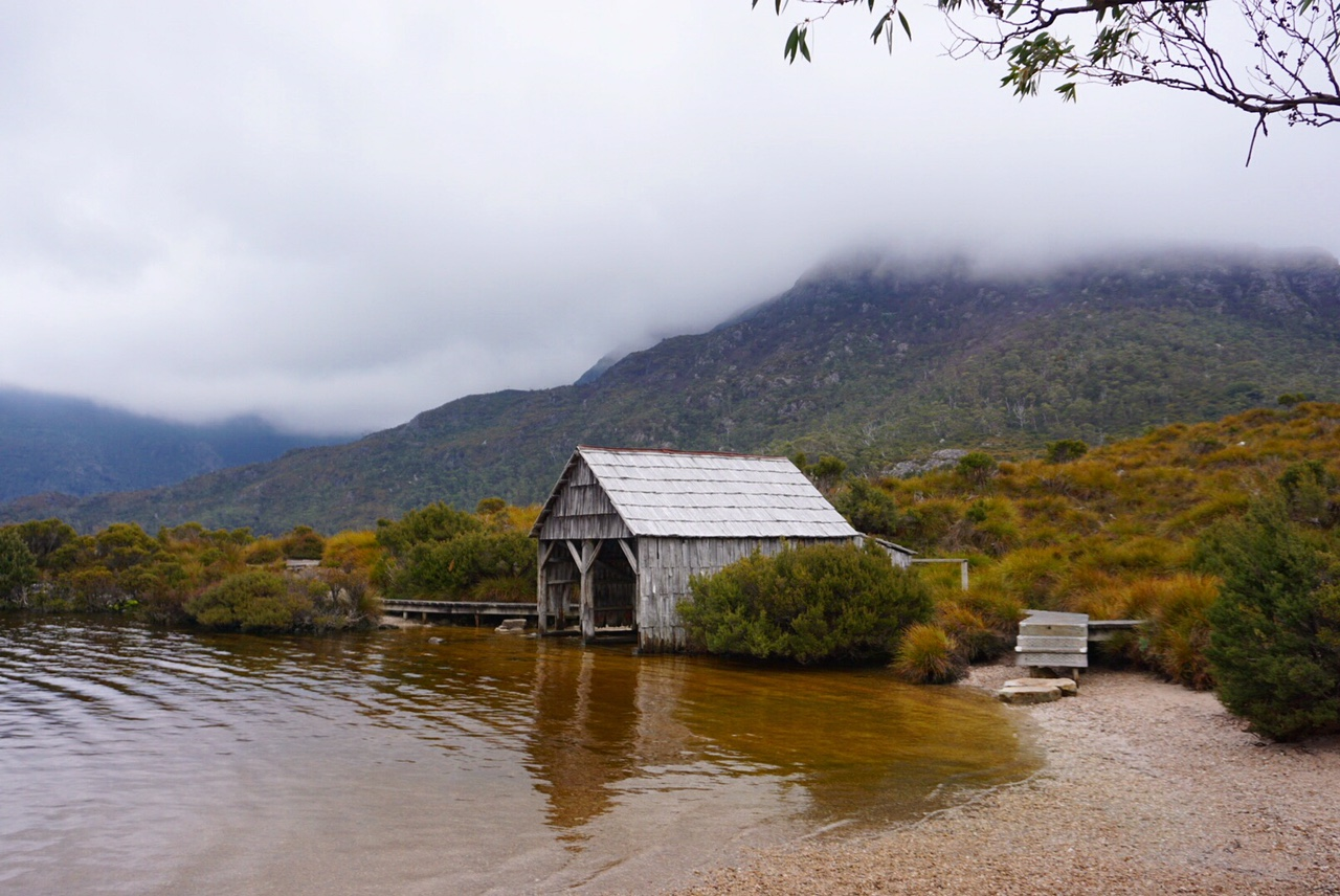 The BoatHouse Dove Lake, Tasmania