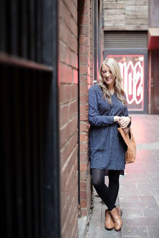 female travel blogger