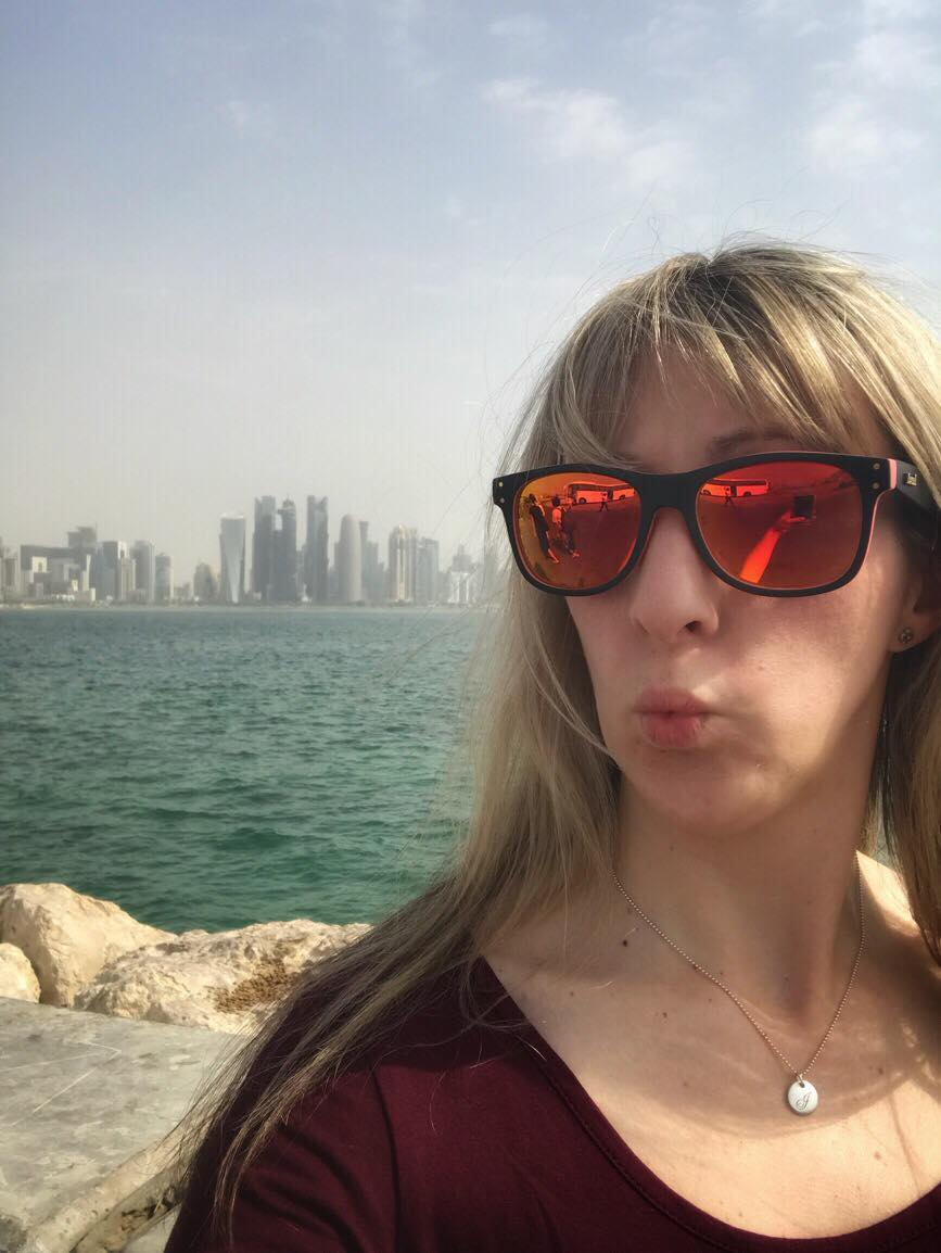 Doha city selfie to prove I was here