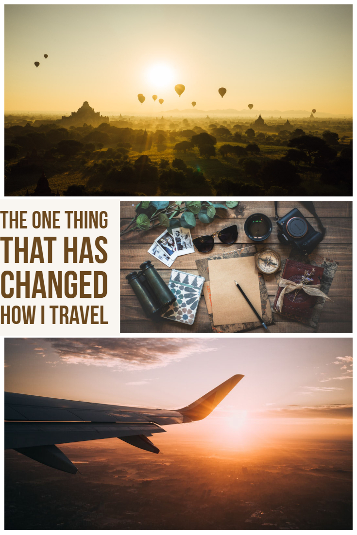 The one thing that has changed how I travel