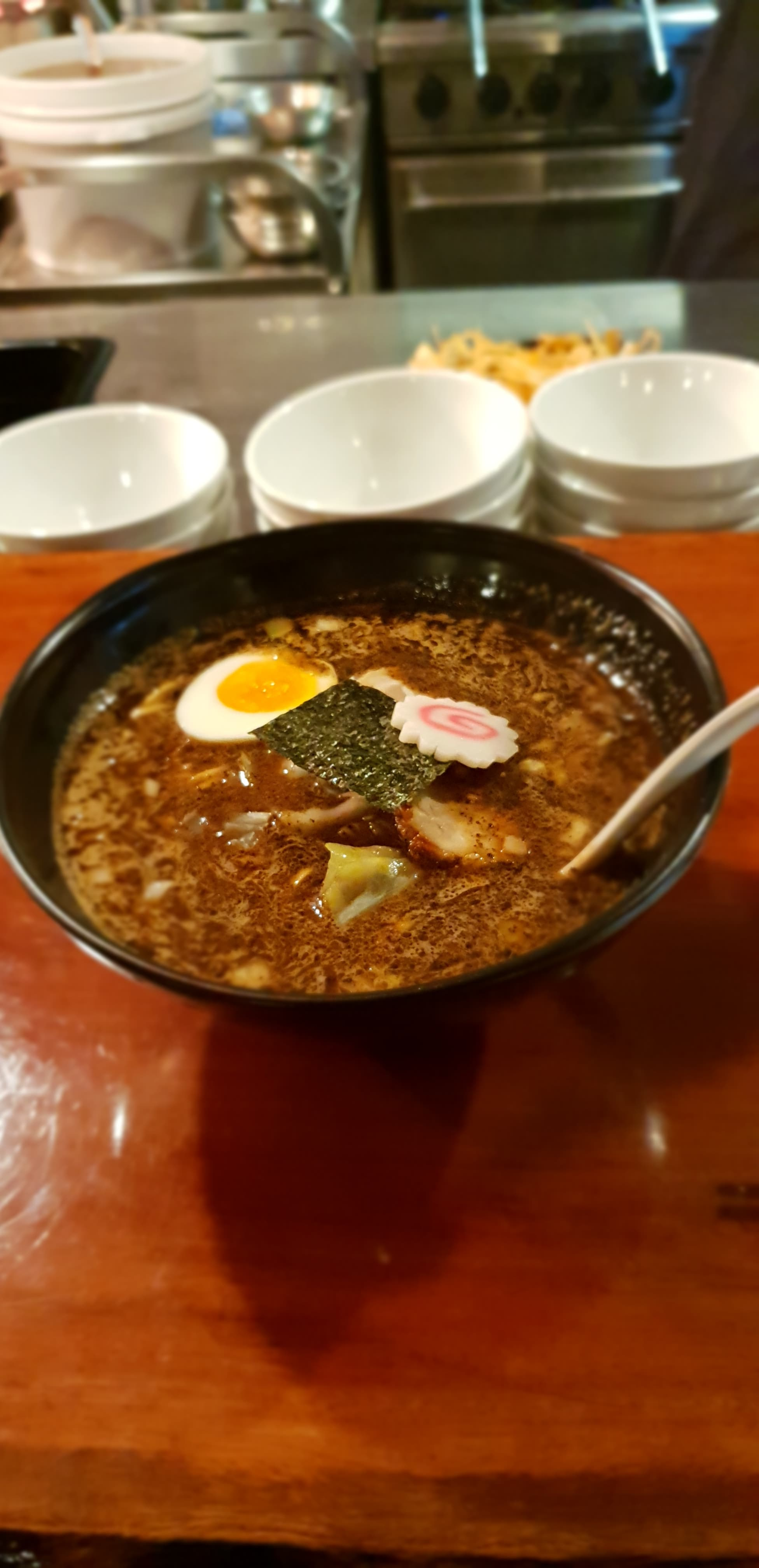 Burnt miso ramen for the win