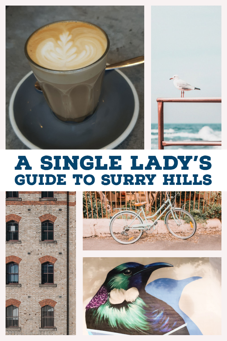 A Single Lady's Guide to Surry Hills Australia
