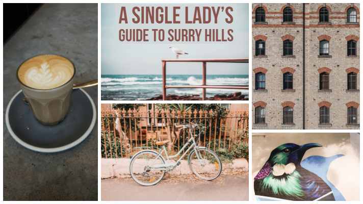 A Single Lady's Guide to Surry Hills