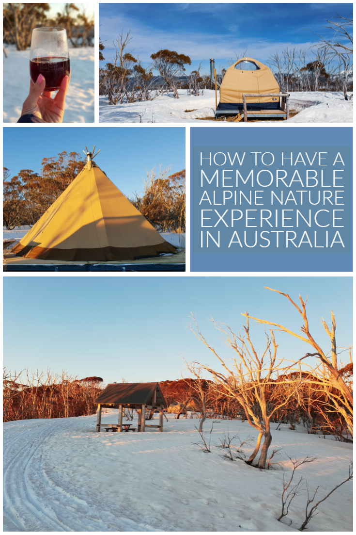 What's better than glamping in the snow, with french fondue and mulled wine? Let me tell you, not a lot.