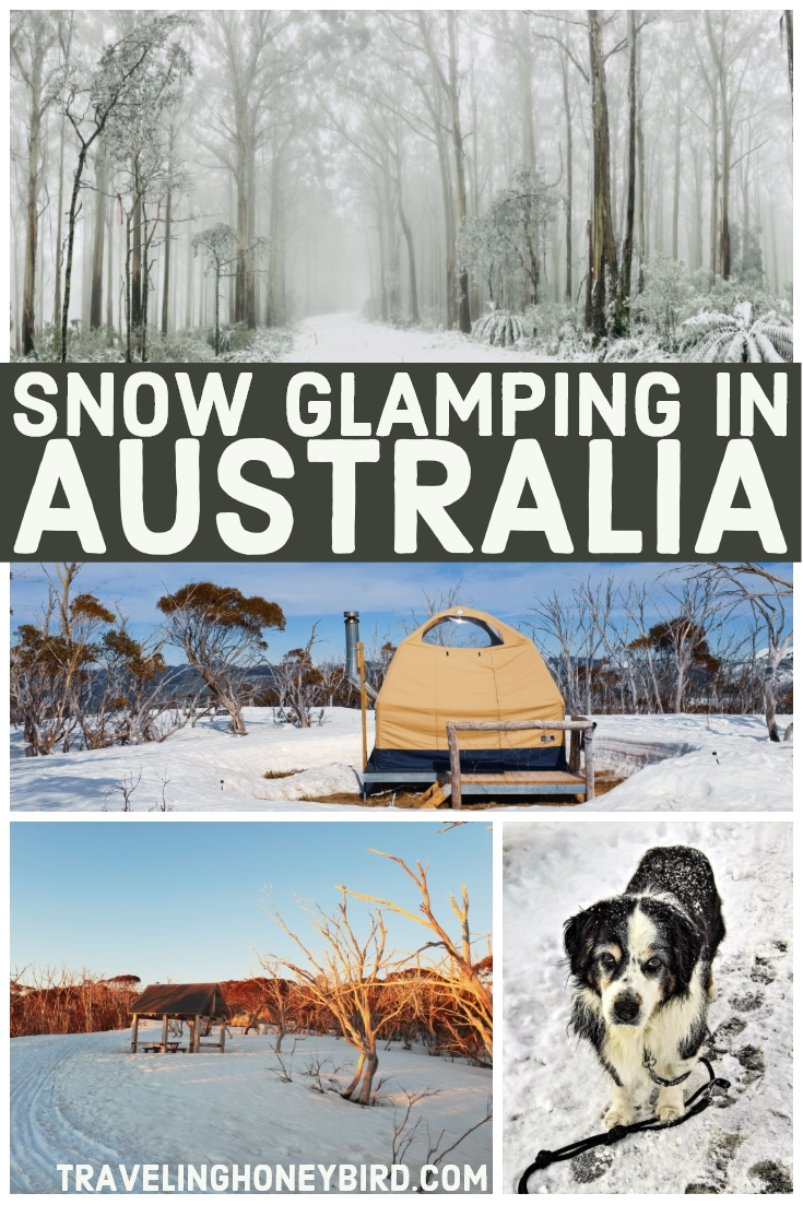 Where to go glamping in the snow in Australia
