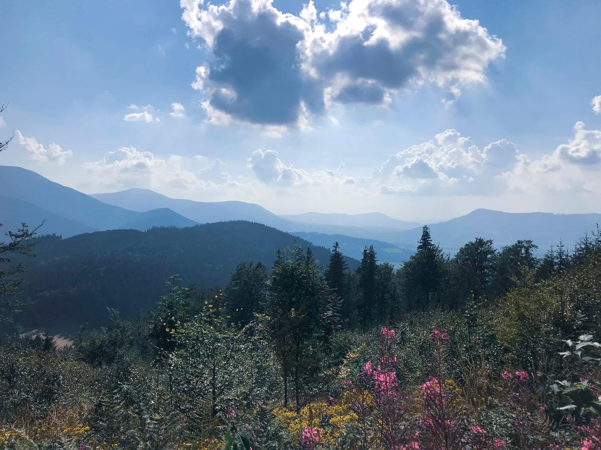 Beskydy mountains Czech