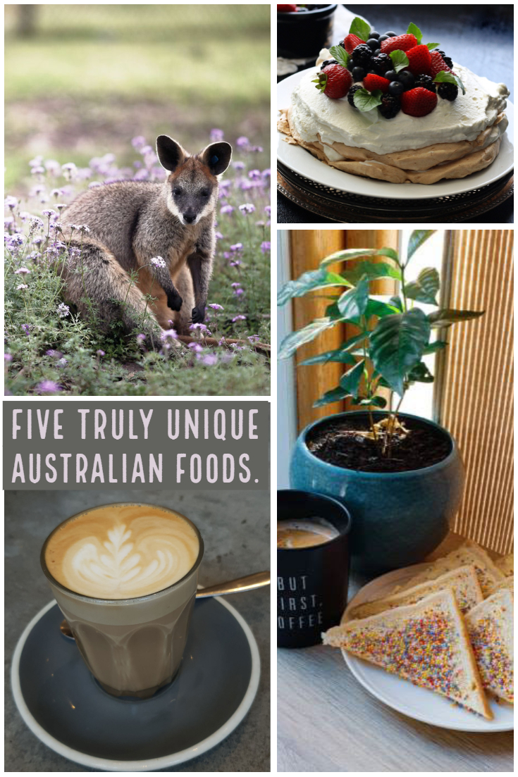 Five truly unique Australian foods