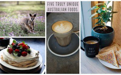 Five truly unique Australian foods
