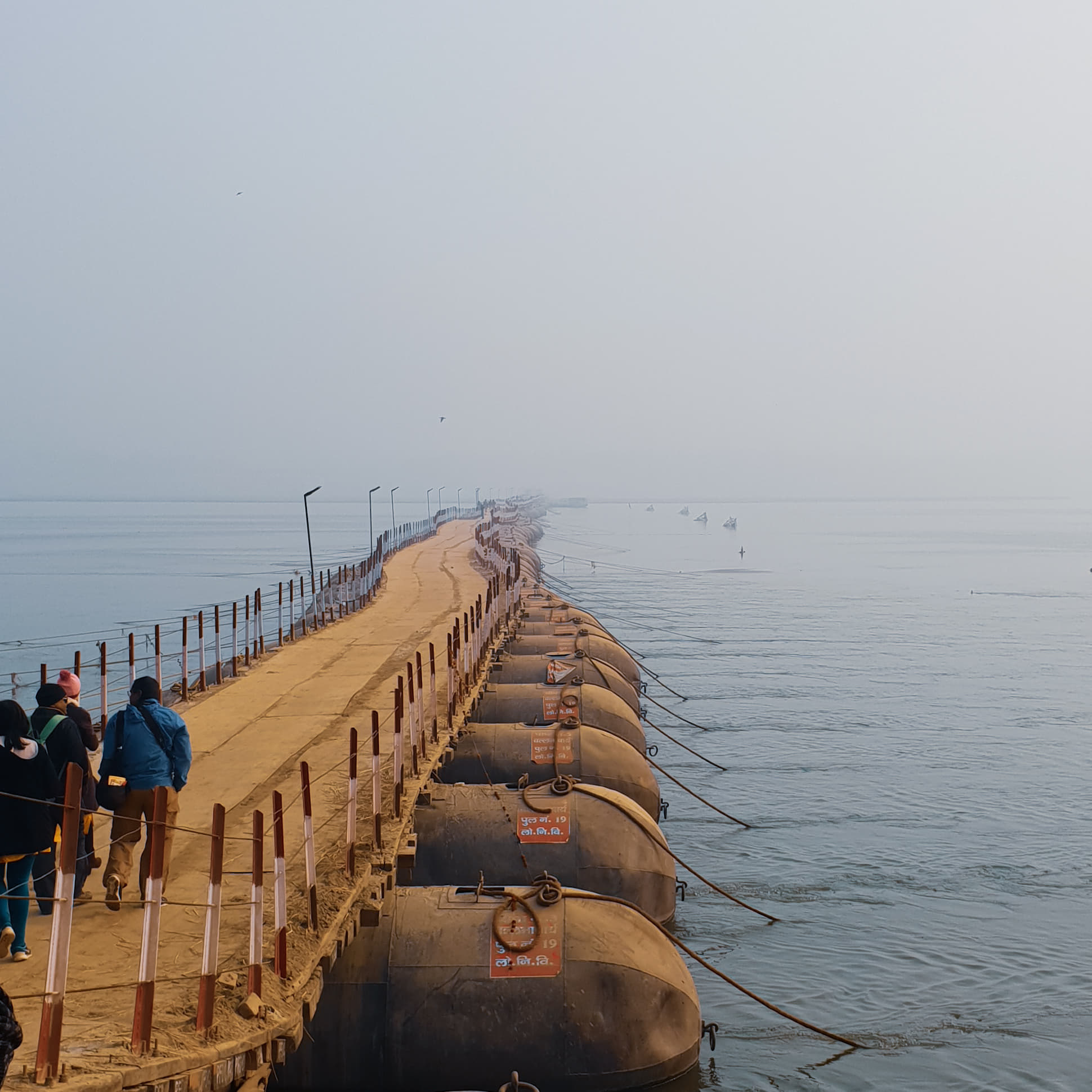 Bridge to Kumbh Traveling Honeybird