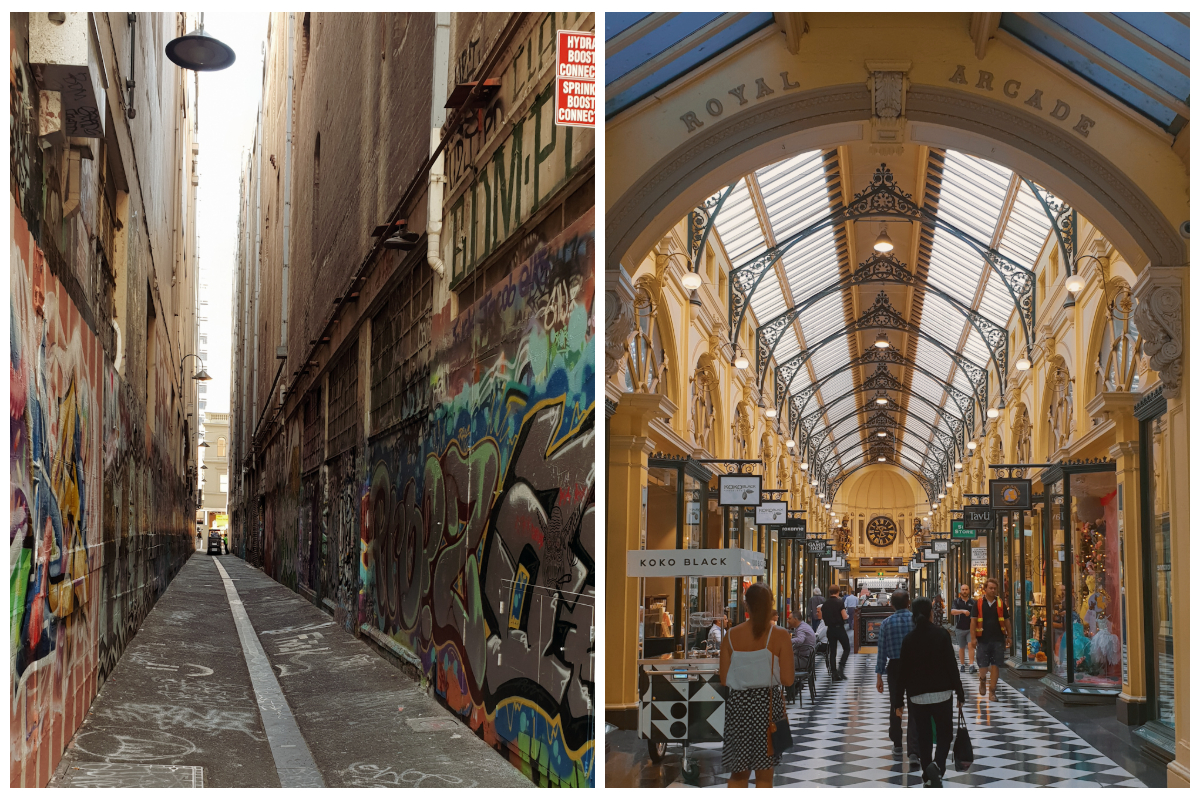 Go like a local and explore laneways in Melbourne