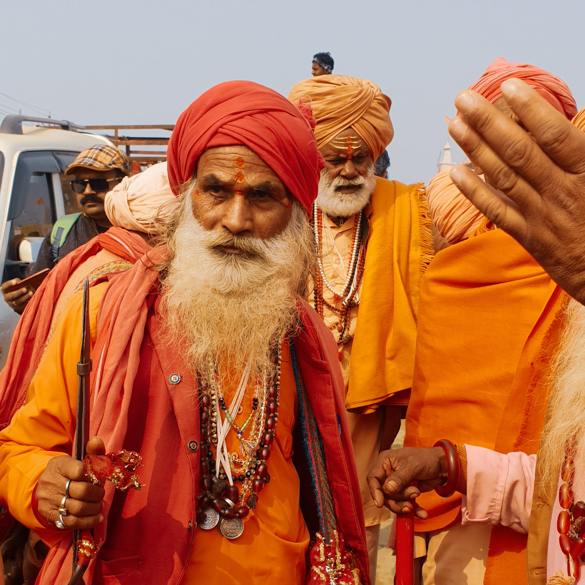 sadhu at the kumbh