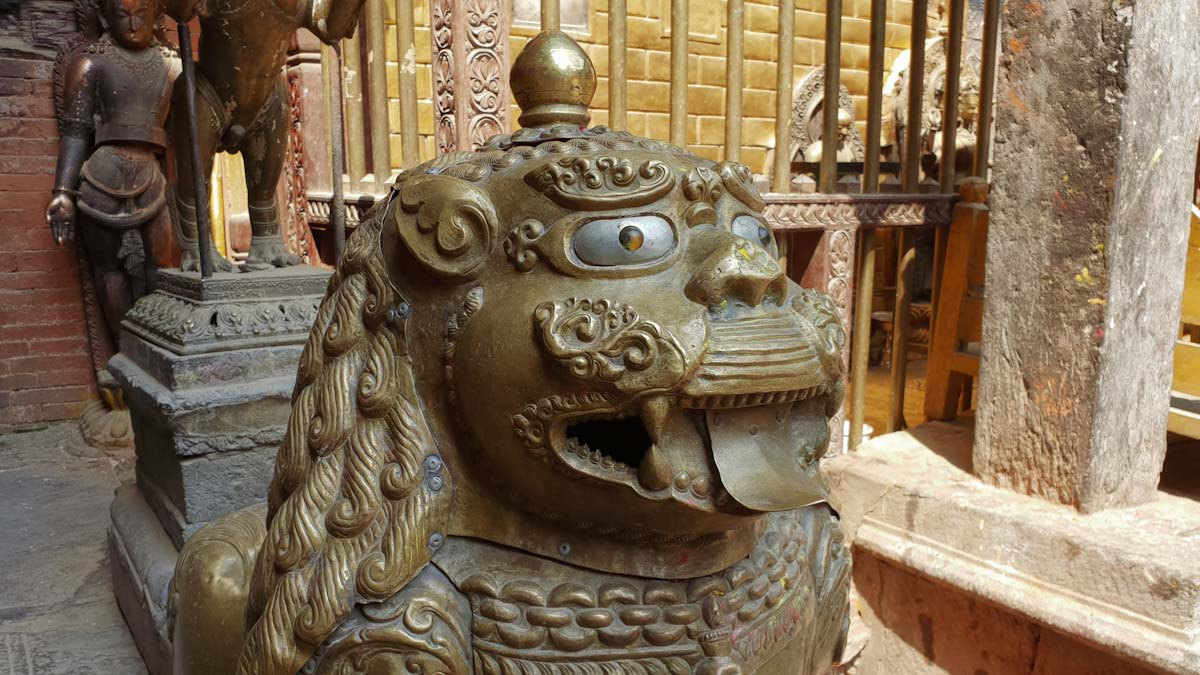 Golden temple in Patan Kathmandu