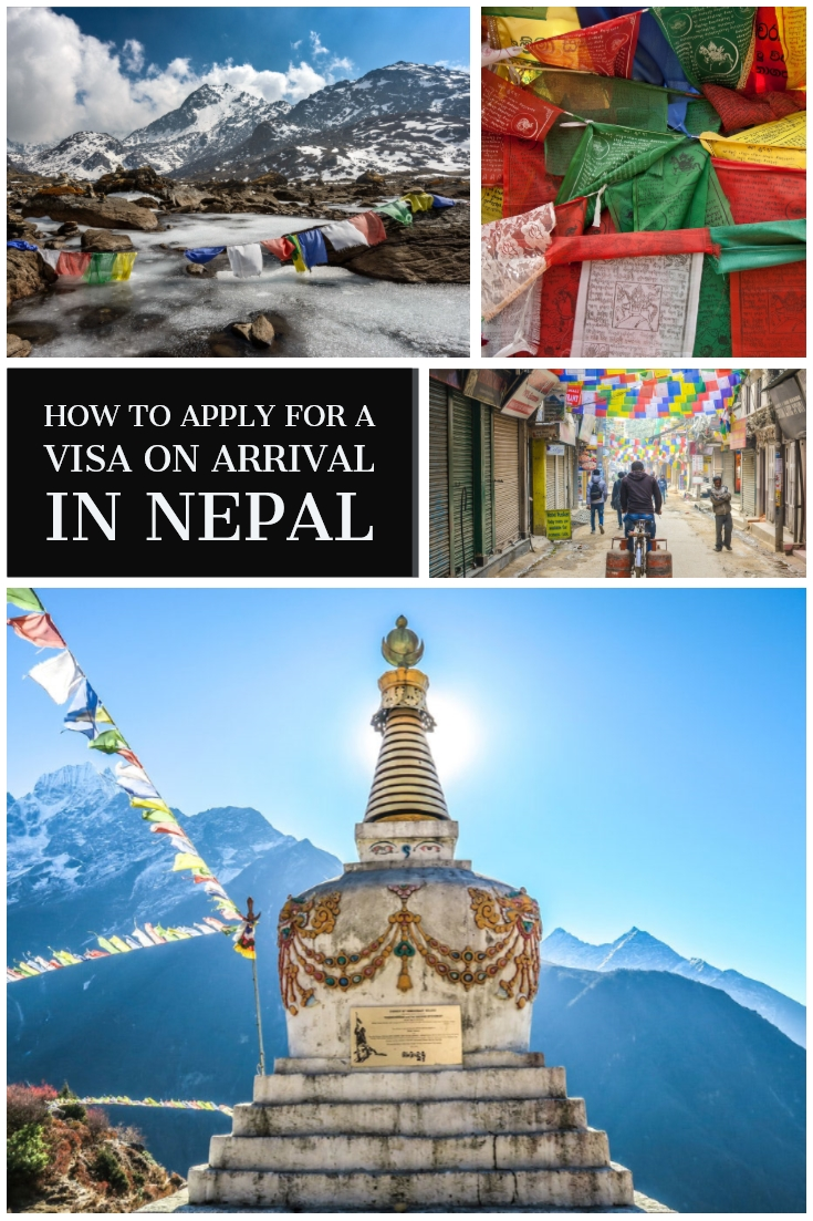 The simplest guide to getting a tourist visa in Nepal. Traveling Honeybird