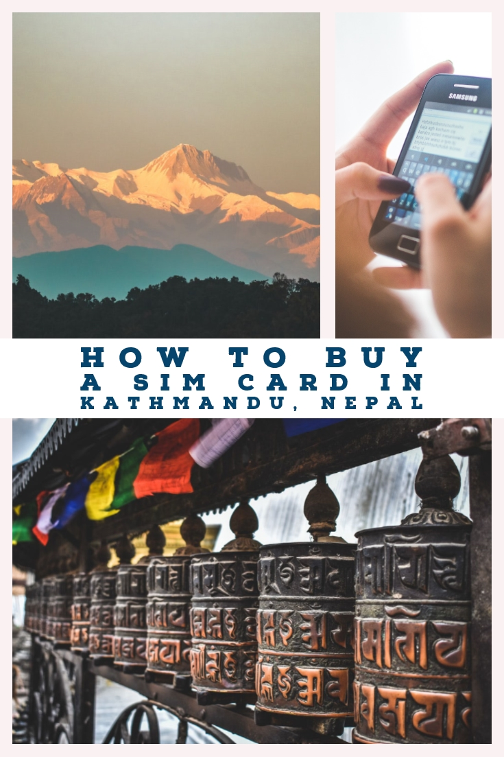 How to buy a sim card in Kathmandu, Nepal