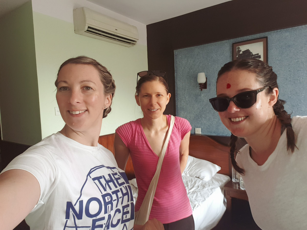 Pre Holi girls looking super clean Traveling Honeybird