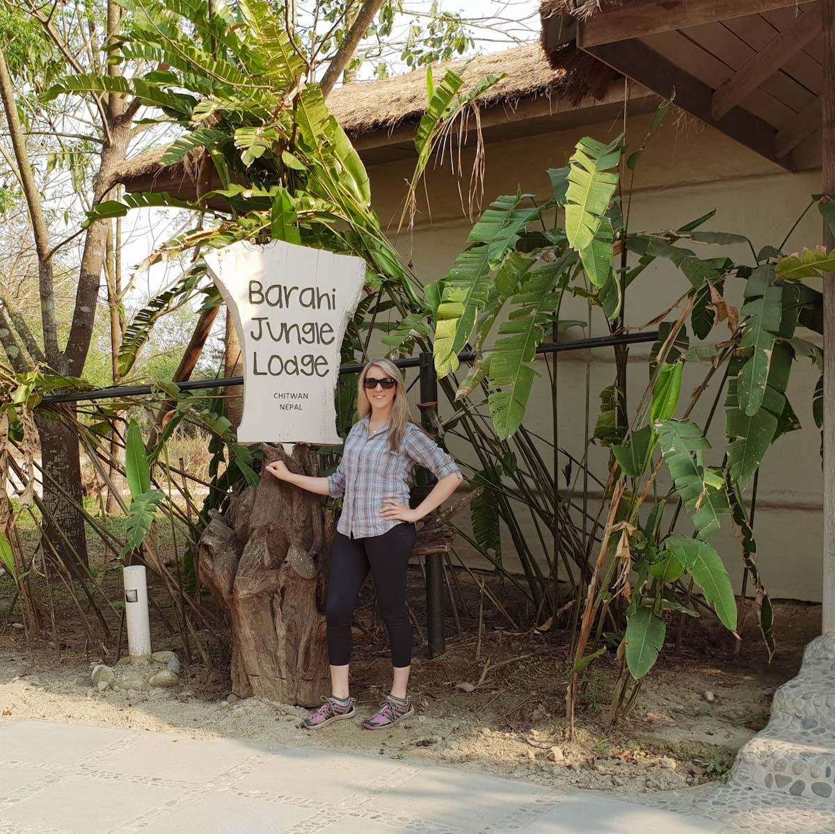 Jean at Barahi Jungle lodge